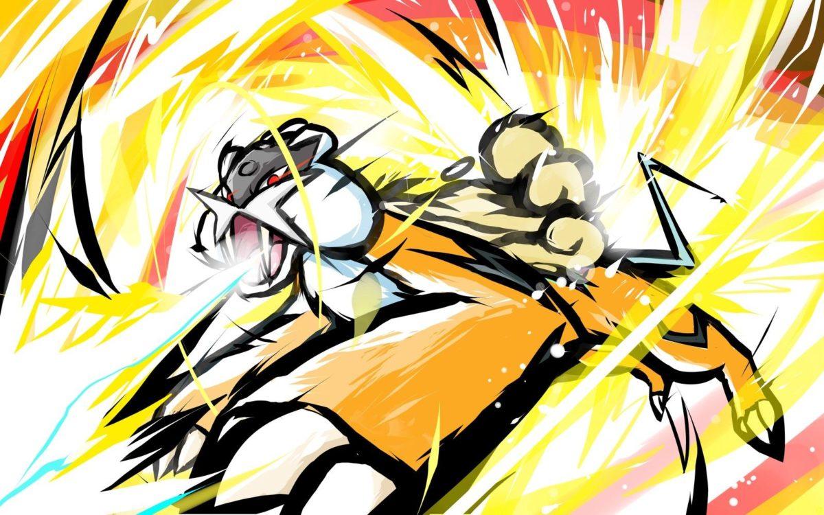 ishmam, Raikou, Pokémon, Shiny Raikou Wallpapers HD / Desktop and …