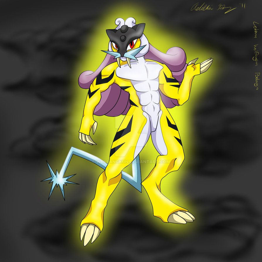 Thunder Legend: Raikou by Wolfangkun on DeviantArt
