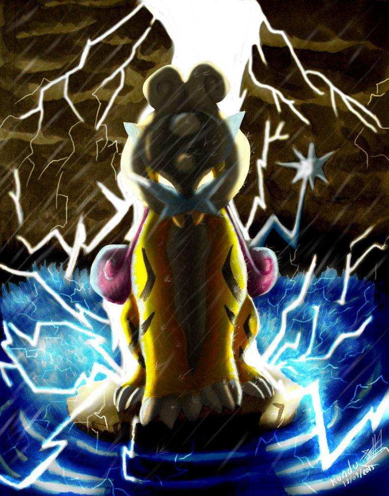 Raikou Thunder by Kundu on DeviantArt