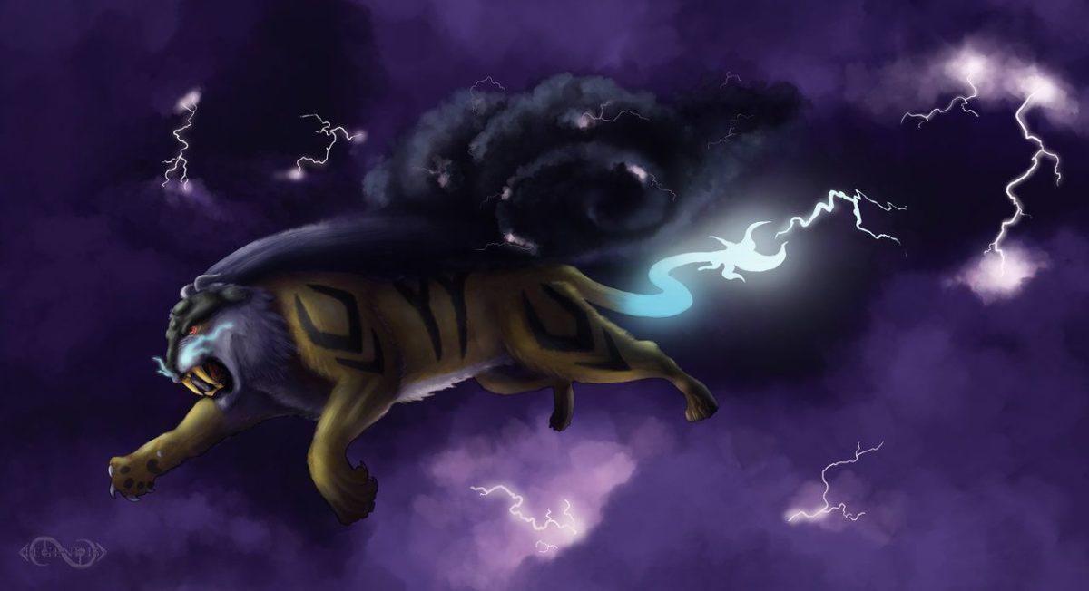 Storm Raikou by Legend13 on DeviantArt