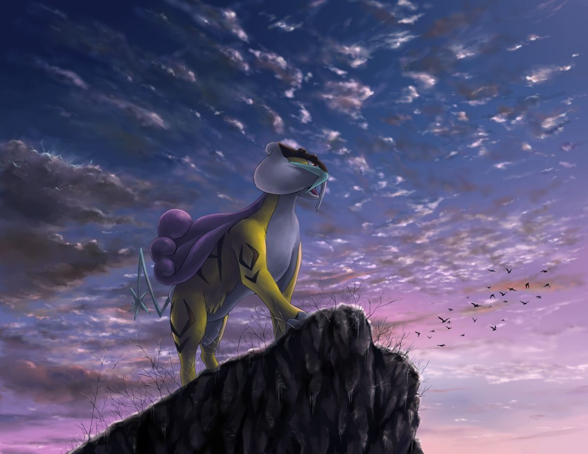 Pokemon GO Raikou HQ Wallpapers   Full HD Pictures