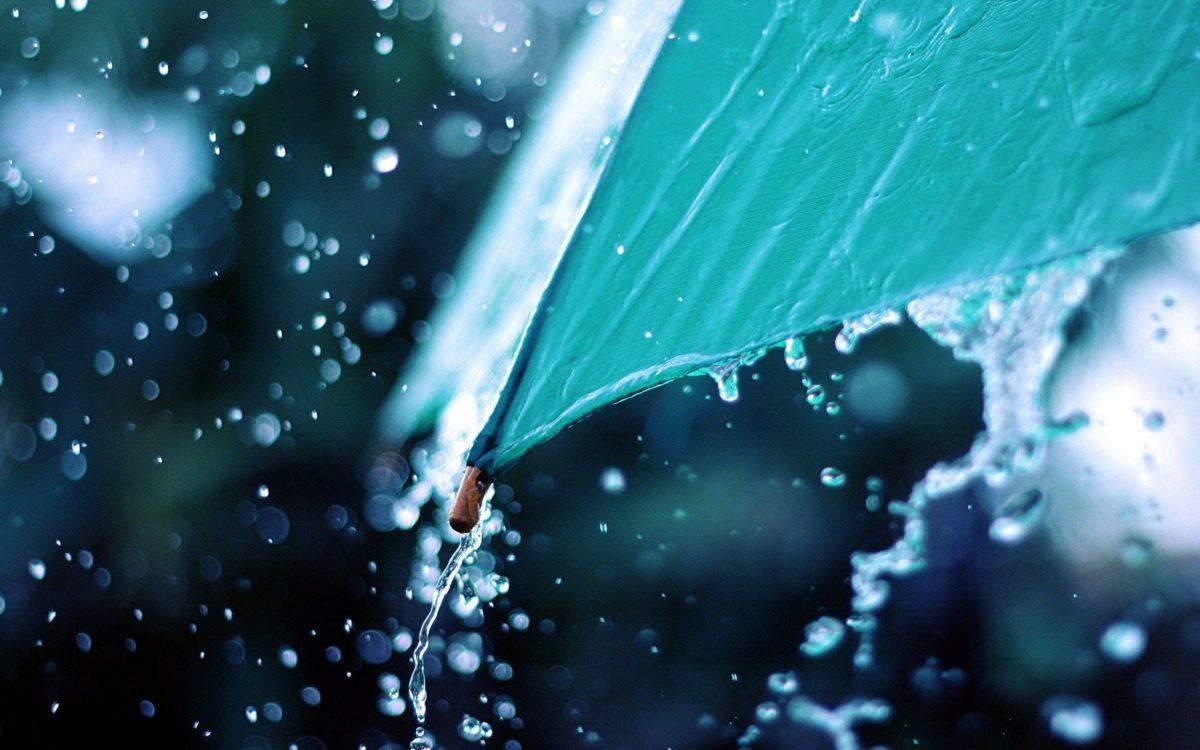Water Flows From Umbrella Rain HD Wallpaper – ZoomWalls