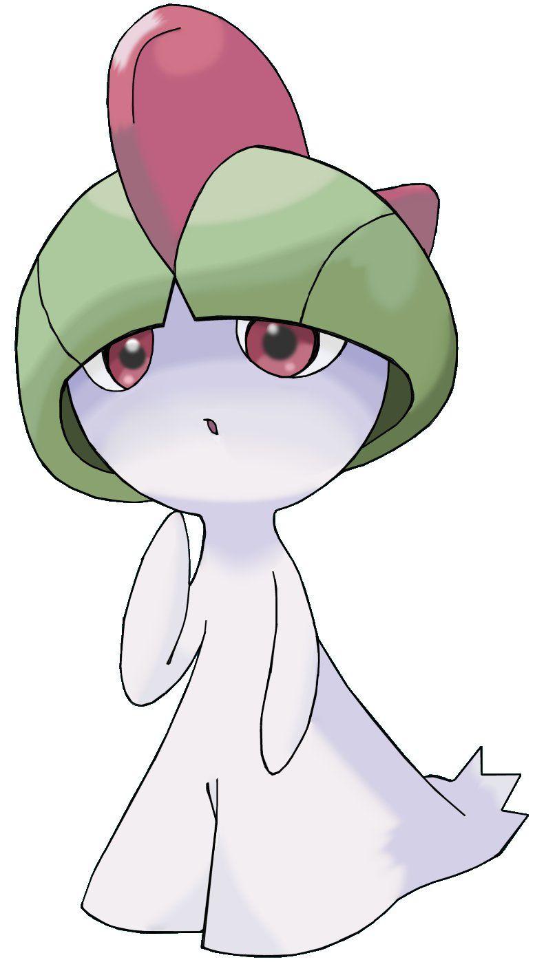TIL that ralts has eyes : pokemon