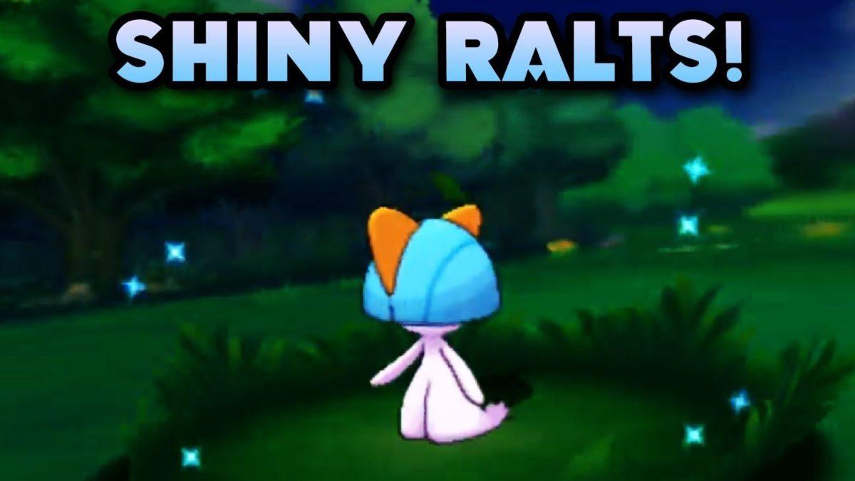 Shiny ralts after 4 encounters!! pokemon omega ruby! – YouTube