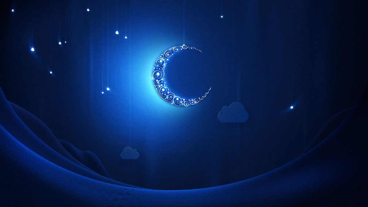 Blue moon at Ramadan wallpapers and images – wallpapers, pictures …