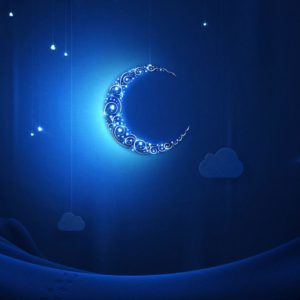 download Blue moon at Ramadan wallpapers and images – wallpapers, pictures …