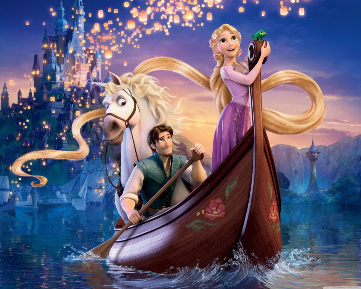 Tangled Rapunzel Wallpapers – Viewing Gallery