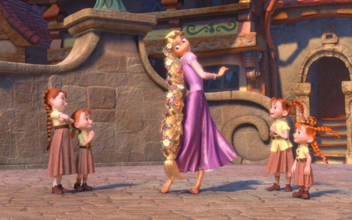 Rapunzel Wallpaper – Tangled Wallpaper (36414628) – Fanpop