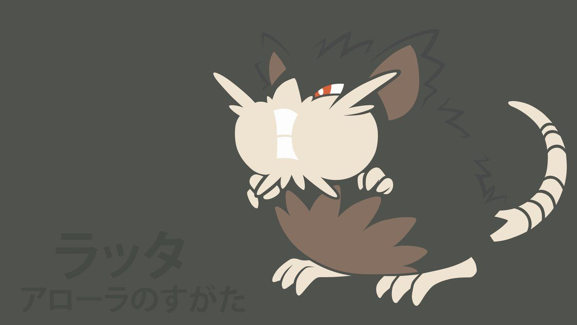 Alolan Raticate by DannyMyBrother on DeviantArt
