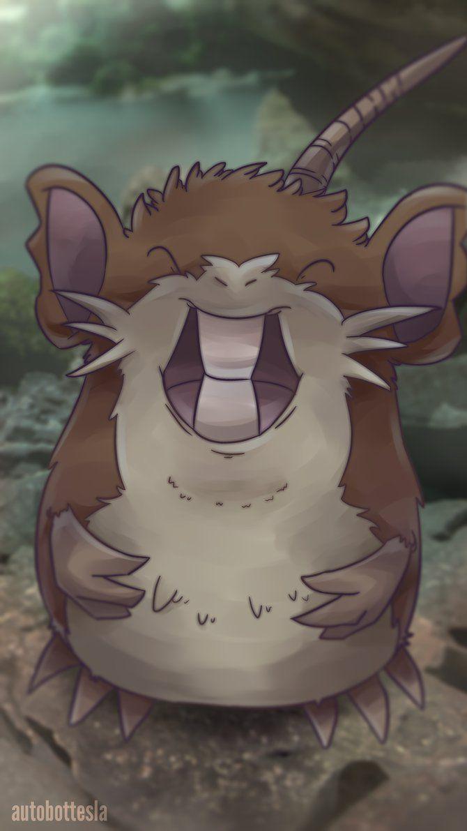 Day 503 – Ratta | Raticate by AutobotTesla on DeviantArt | Pokémon …