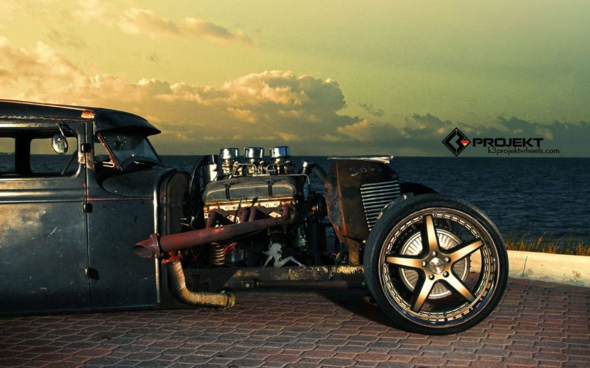 1931 K3-Projekt Ford Model-T rat rod hot rods retro engine engines …