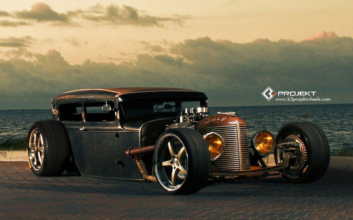 1931 K3-Projekt Ford Model-T rat rod hot rods retro w wallpaper …