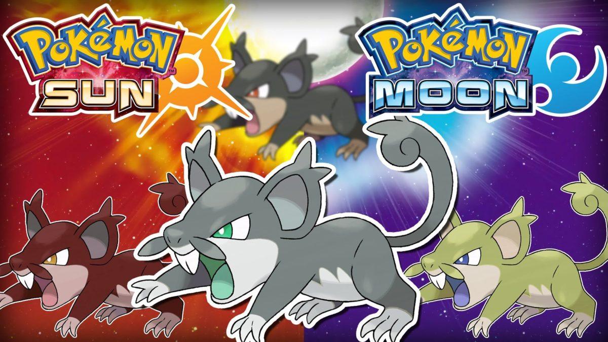 Pokemon Sun and Moon: Shiny Speculation – Shiny Alolan Rattata …