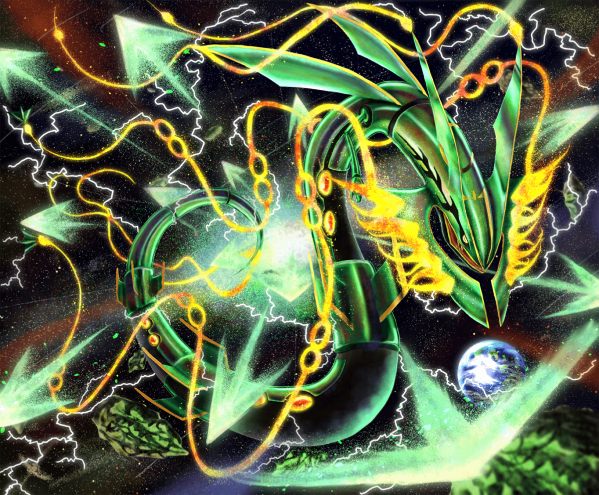 26 Rayquaza (Pokémon) HD Wallpapers | Backgrounds – Wallpaper Abyss