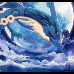 download 26 Rayquaza (Pokémon) HD Wallpapers | Backgrounds – Wallpaper Abyss