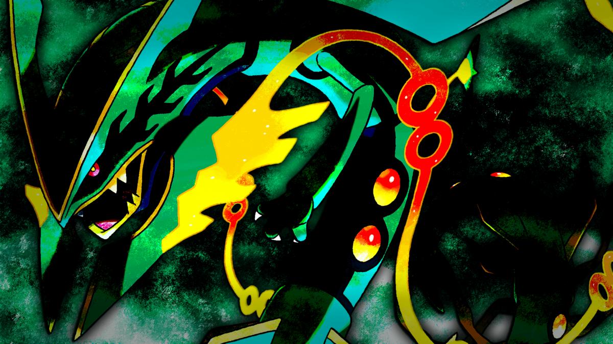 Mega Rayquaza HD Wallpaper – WallpaperSafari