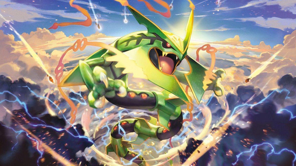 Pokemon Mega Rayquaza Wallpaper, Pokemon Mega Rayquaza Wallpapers …