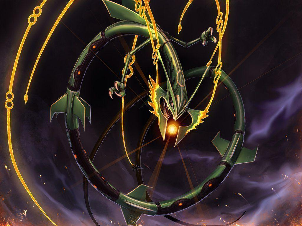 shiny mega rayquaza | 10 Pieces of Fan Art To Remind You Not To …