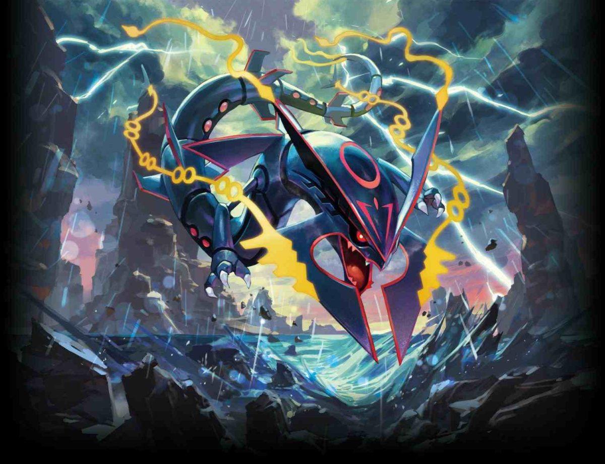 pokemon shiny mega rayquaza wallpaper | Pokemon wallpapers …