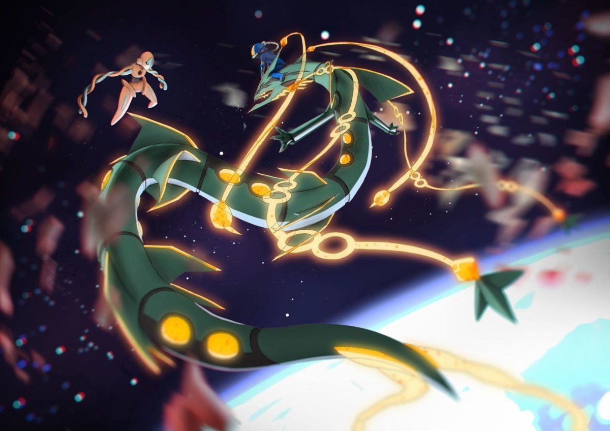6 Mega Rayquaza (Pokémon) HD Wallpapers | Backgrounds – Wallpaper …