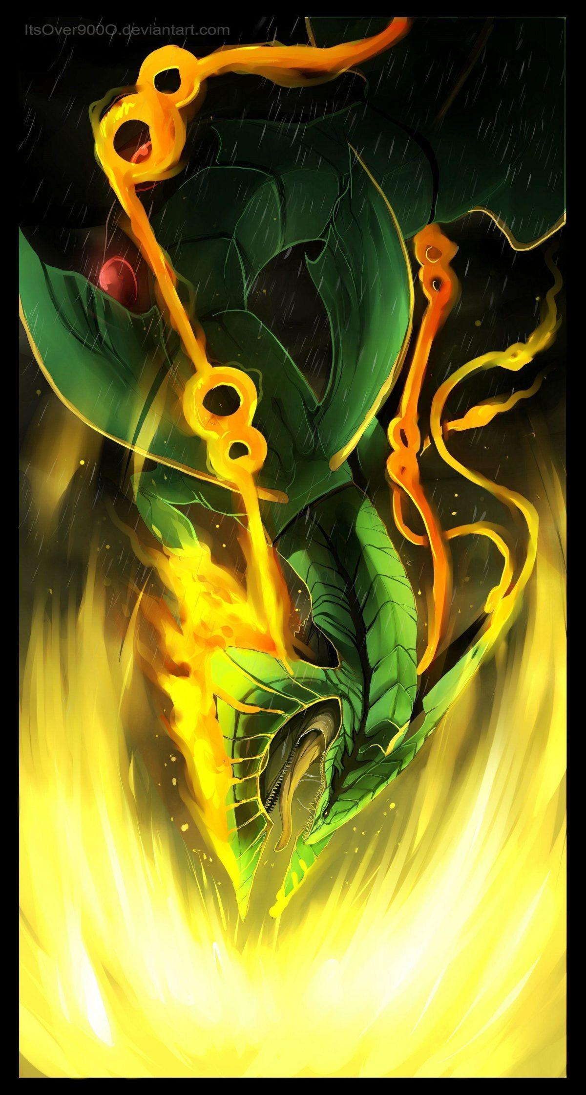 Mega Rayquaza: Dragon Ascent by ItsOver900O.deviantart.com on …