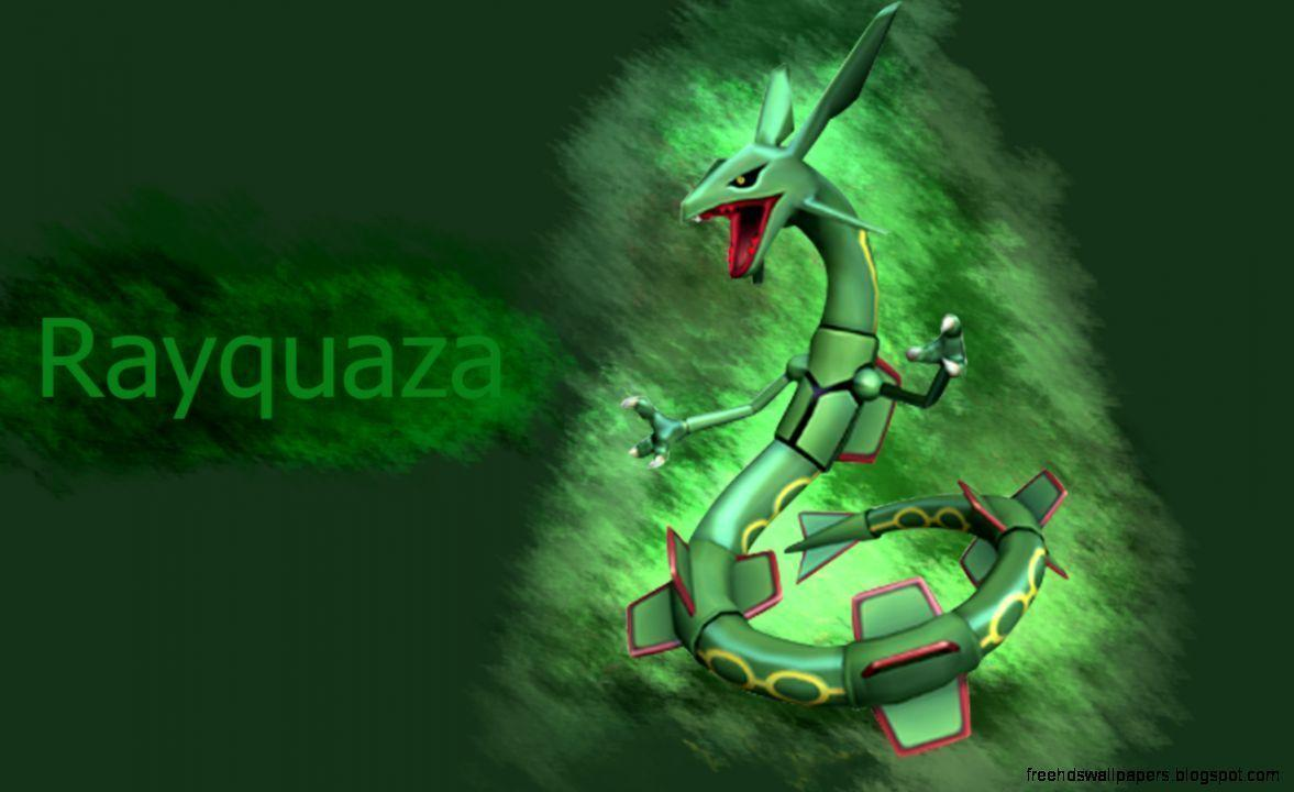 Pokemon Wallpaper Rayquaza | Free Hd Wallpapers