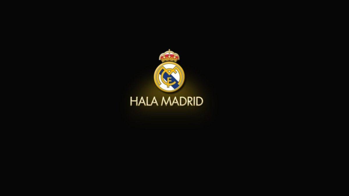 Real Logo Madrid Black Wallpapers #12618 Wallpaper | Cool …