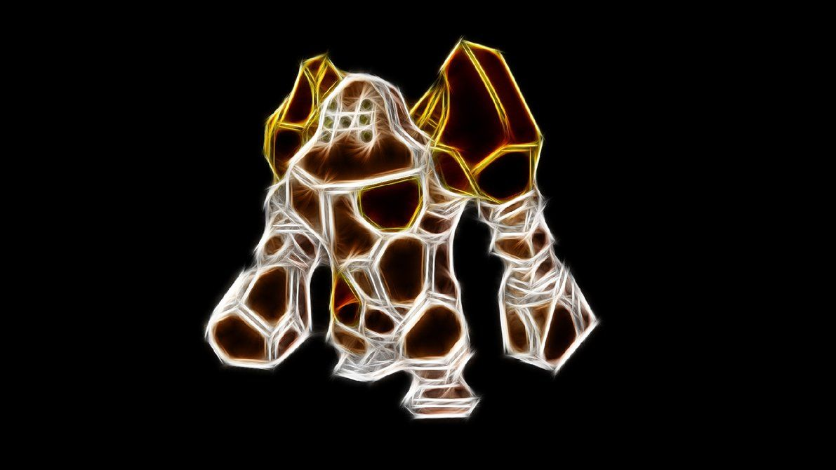 Regirock by TheBlackSavior on DeviantArt