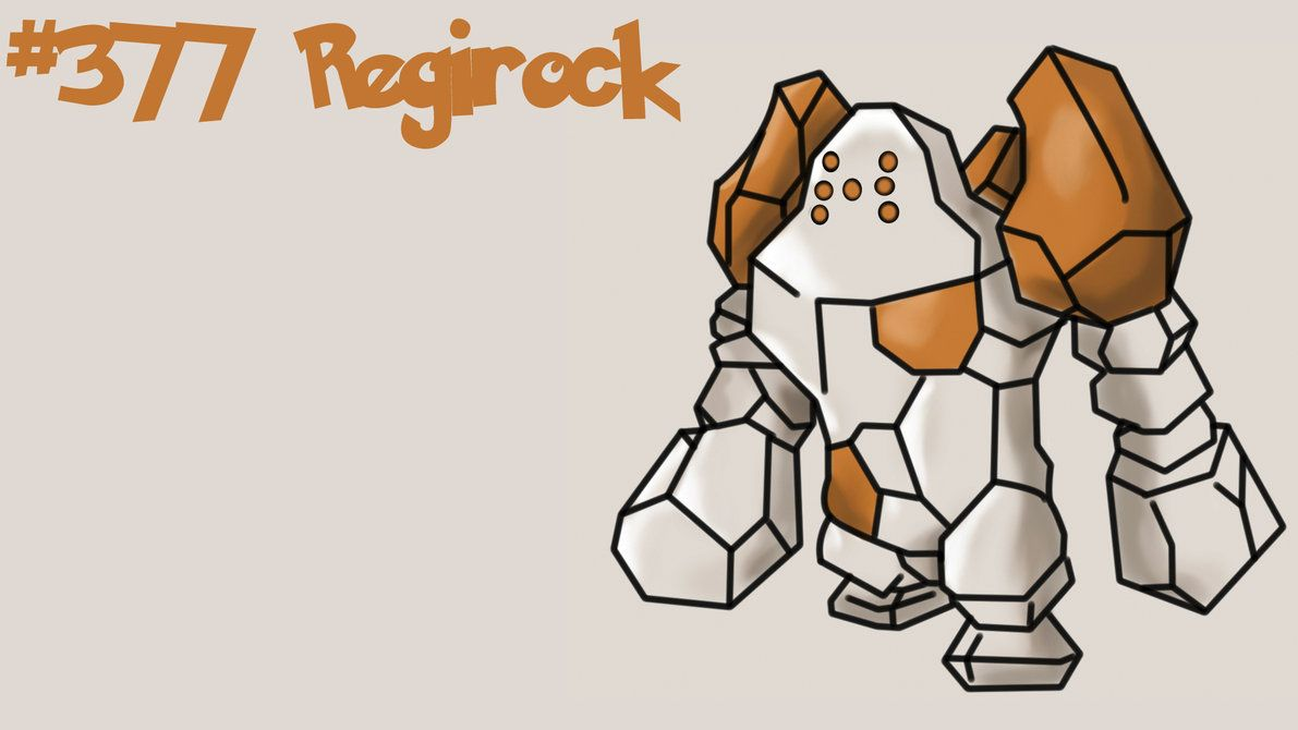 Regirock wallpaper by Xingle on DeviantArt
