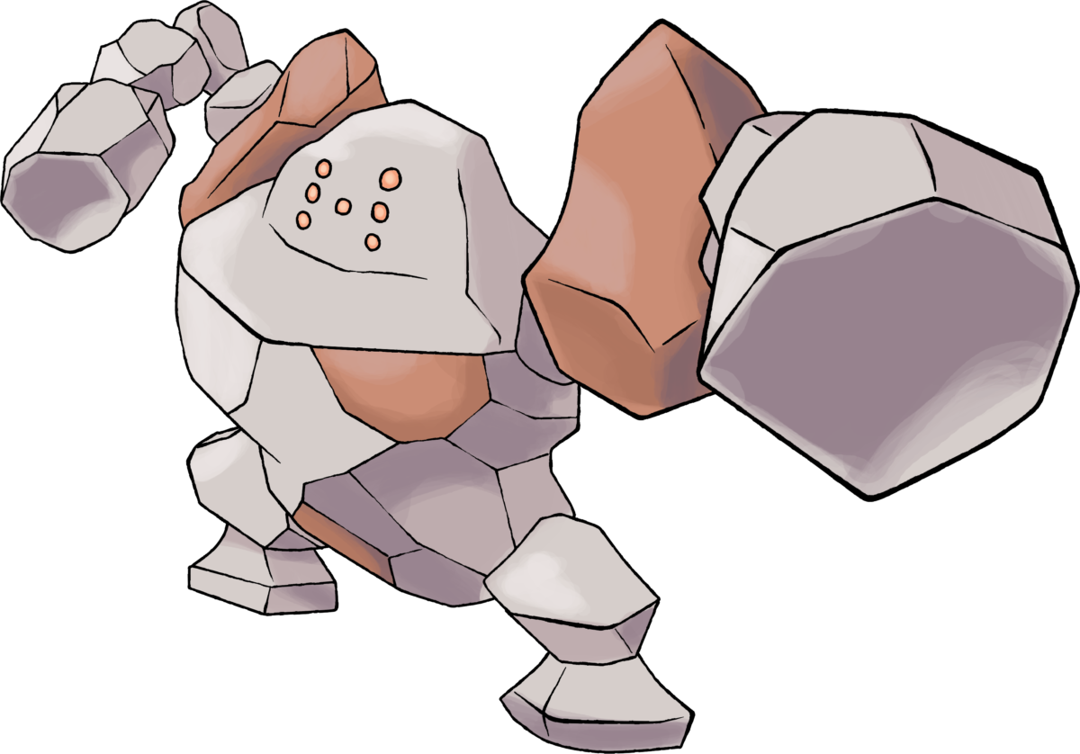 Regirock |Day 21 by TheAngryAron on DeviantArt