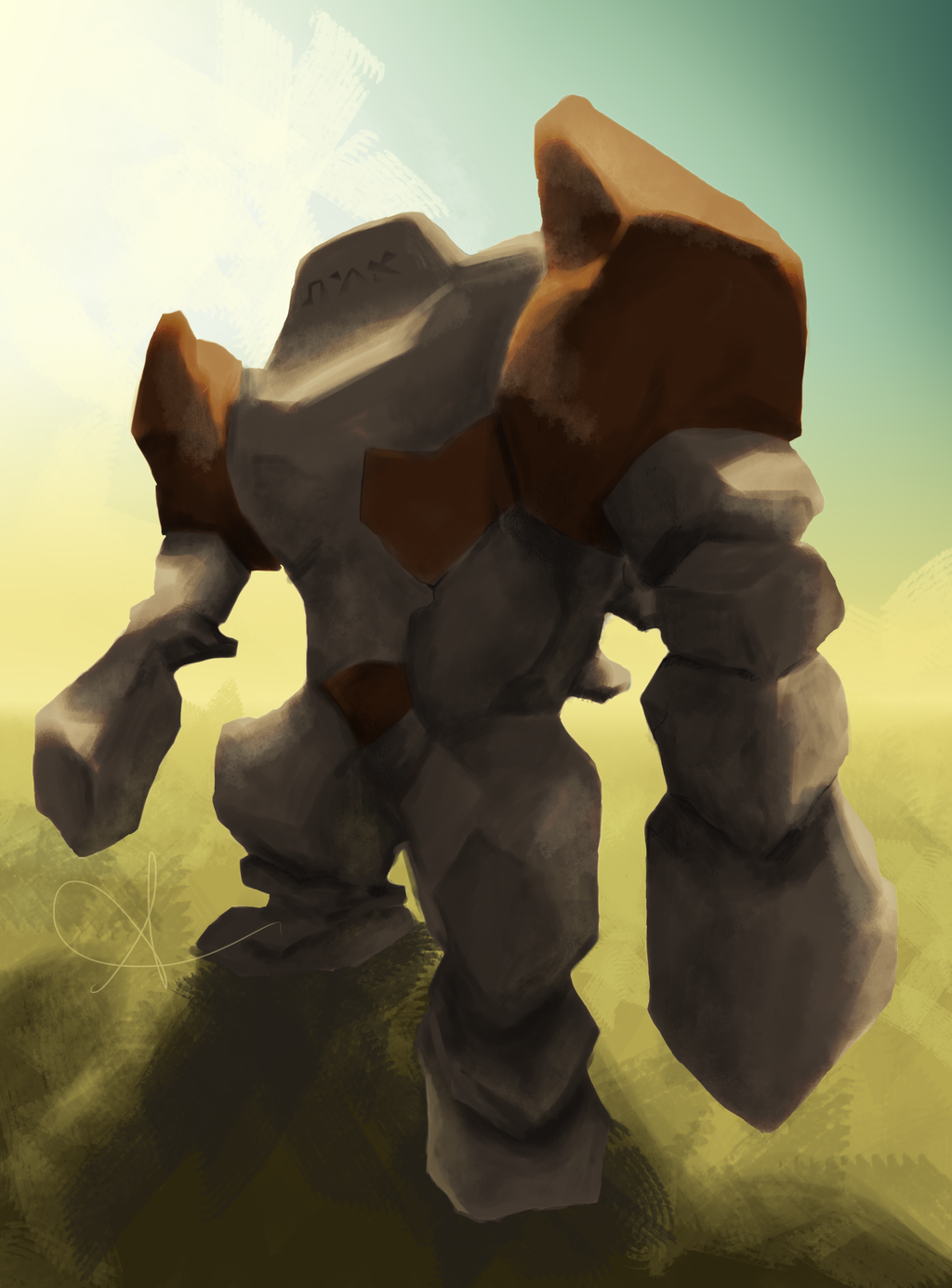 Regirock the golem of Helem by AliAadi on DeviantArt