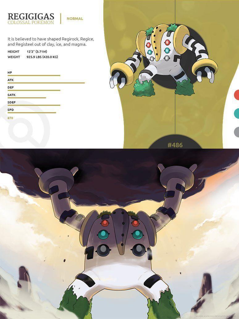 Regigigas Pokemon Db Images | Pokemon Images
