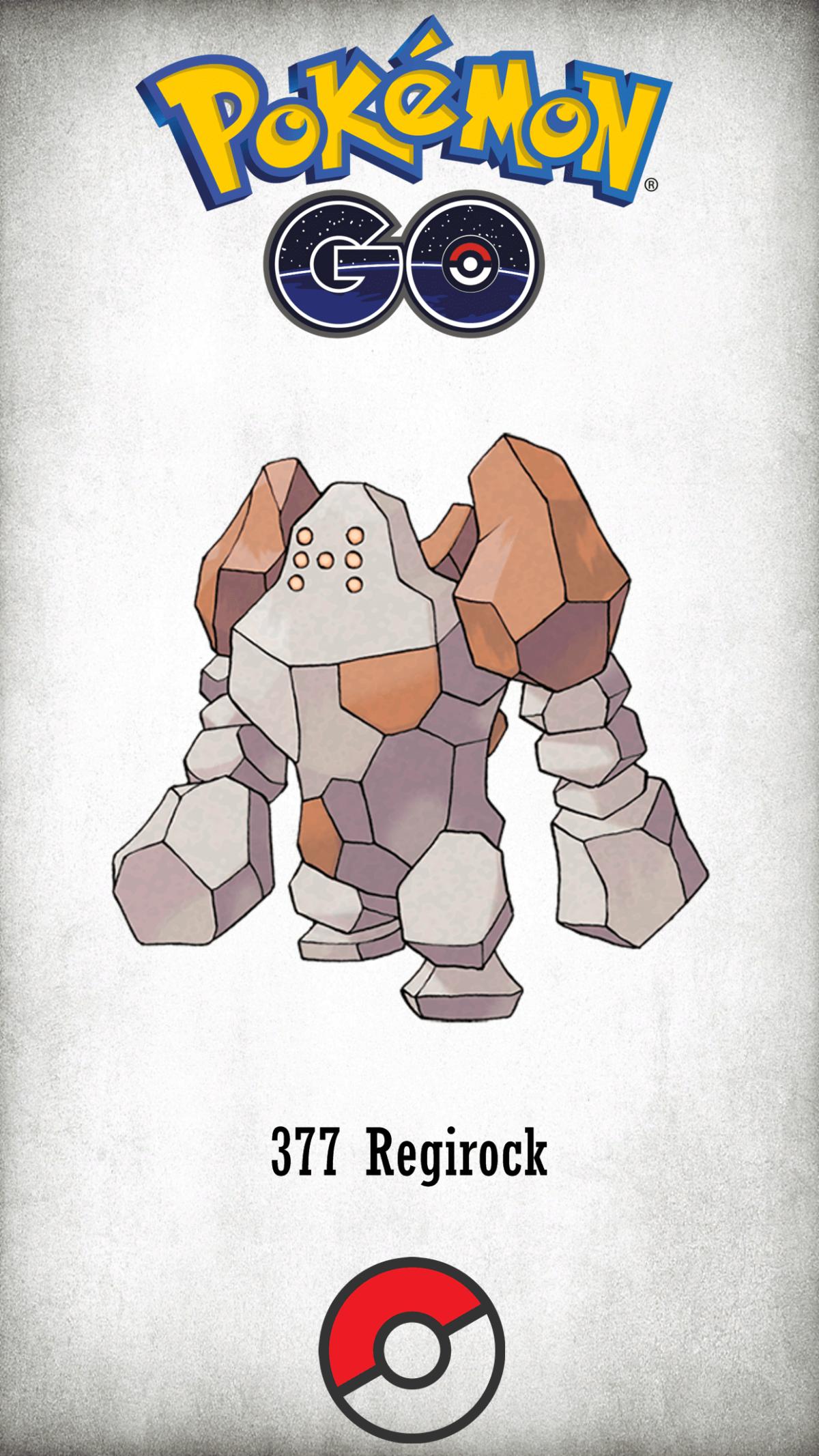 377 Character Regirock | Wallpaper