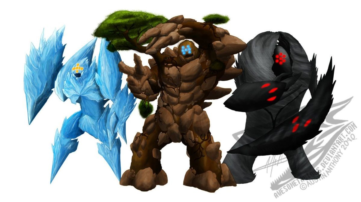 The Legendary Golems by Awesometacious on DeviantArt