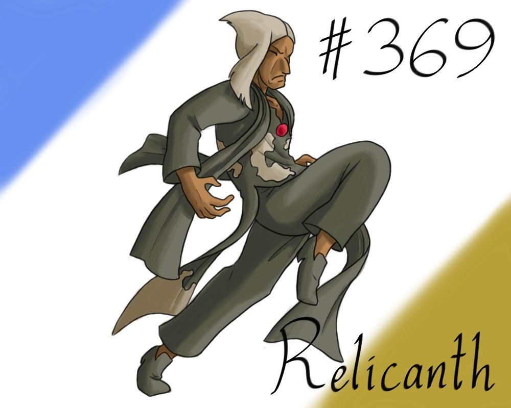 Pokemon Gijinka Project 369 Relicanth by JinchuurikiHunter on DeviantArt
