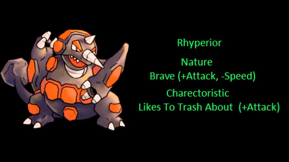 Pokemon Of The Week: Rhyperior – YouTube
