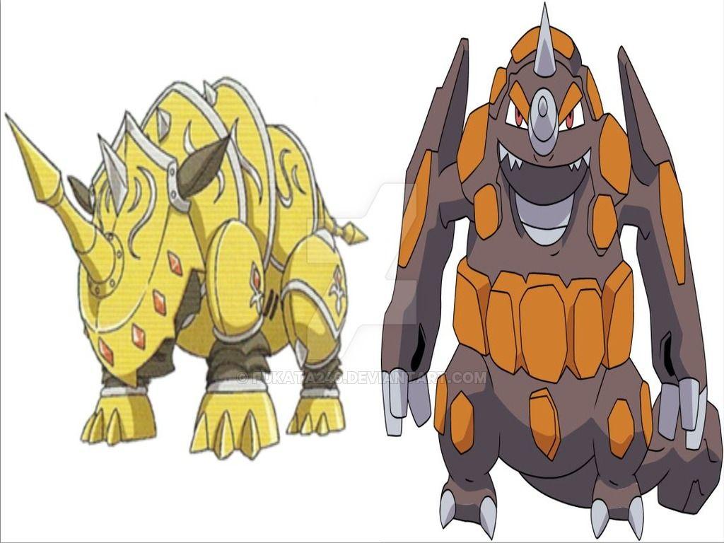 Rhinomon vs Rhyperior by fukata246 on DeviantArt