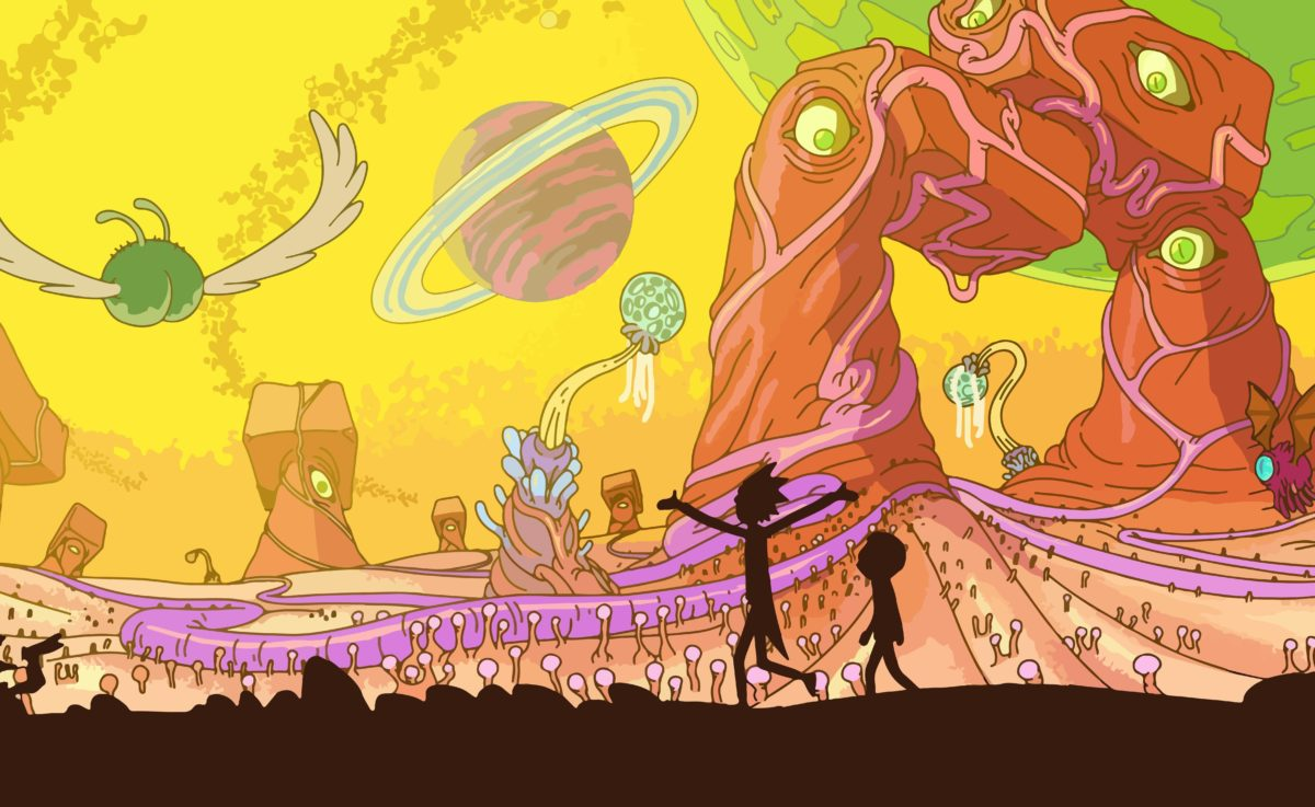 Rick And Morty, Adult Swim, Space, Animation, Planet Wallpapers HD …