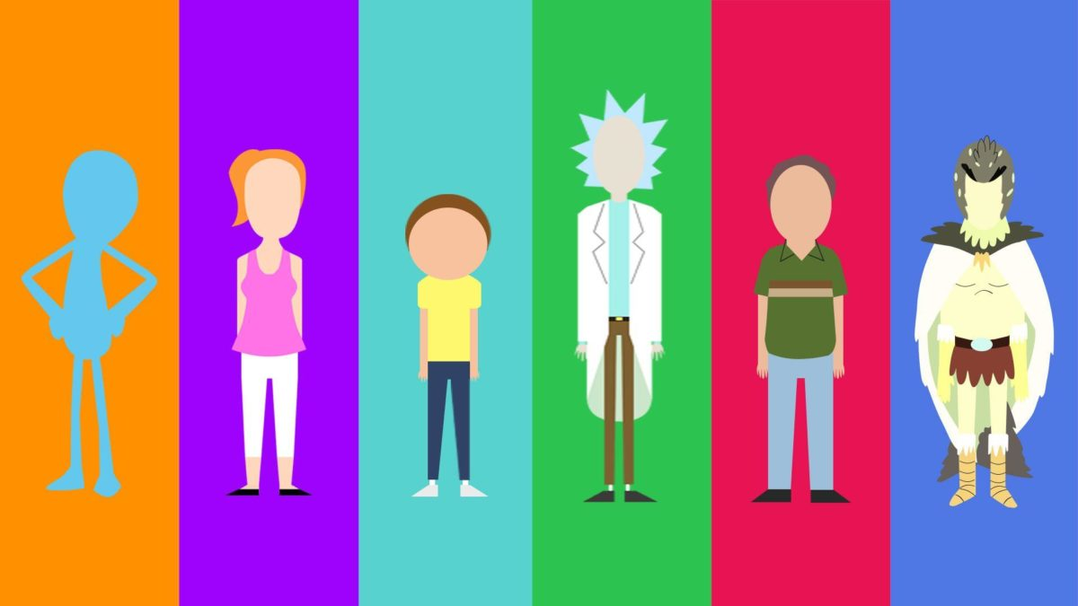 My minimalist Rick and Morty character collection – Album on Imgur
