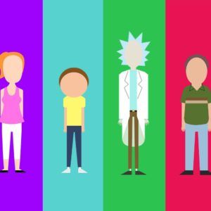 download My minimalist Rick and Morty character collection – Album on Imgur