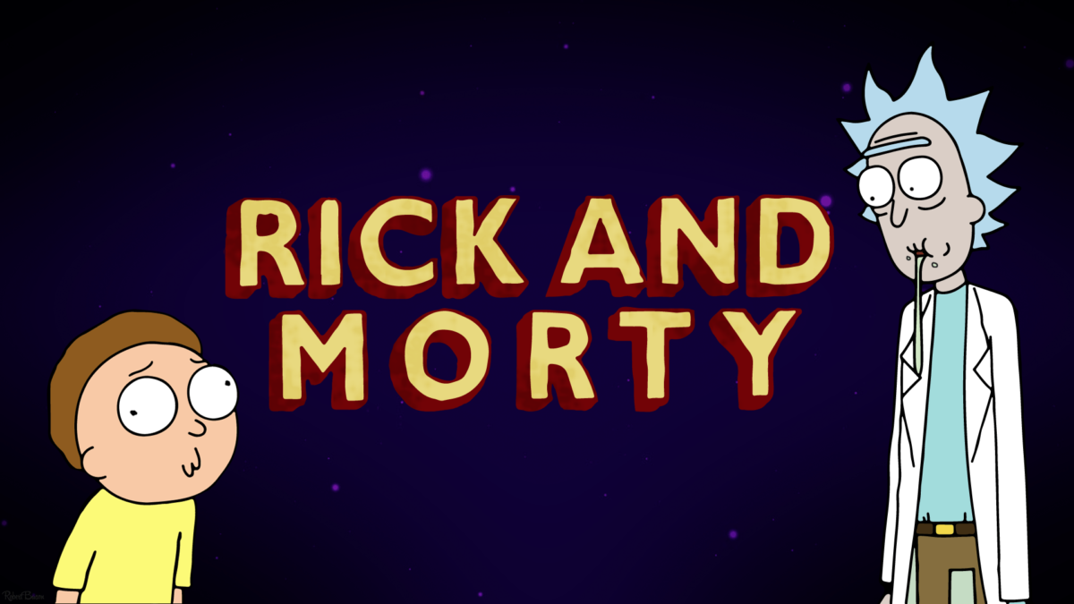 I made myself a Rick and Morty wallpaper. I thought I would share …