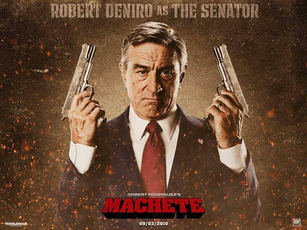 Robert De Niro – Machete wallpaper – Action Movies Wallpaper