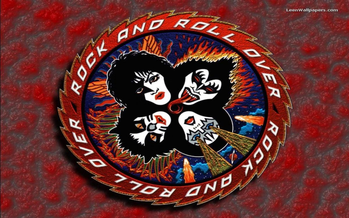 Kiss Rock And Roll Over Wallpaper