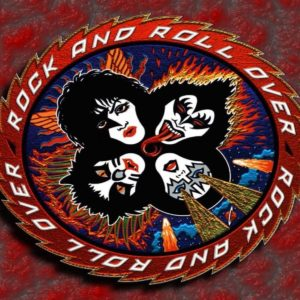 download Kiss Rock And Roll Over Wallpaper