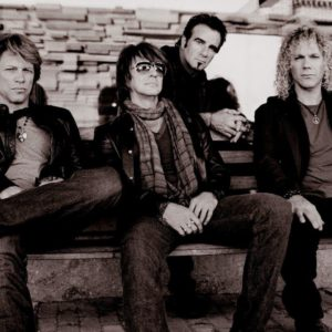 download Bon Jovi Rock n Roll Band music background in 1920×1080 resolution …