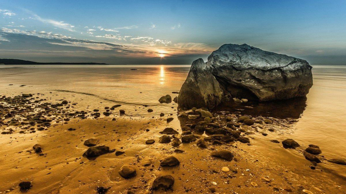 Wallpaper Golden Rock Beach 1920 X 1080 Full Hd – 1920 x 1080 – Full …