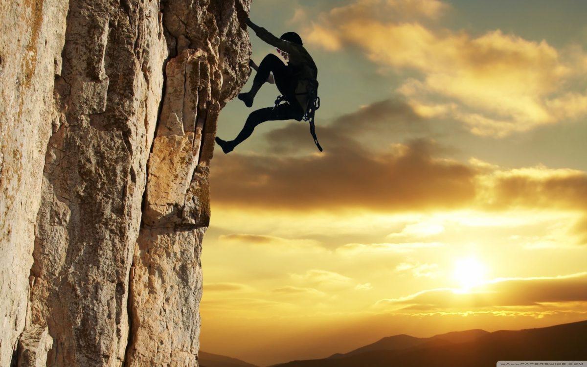 Rock Climbing ❤ 4K HD Desktop Wallpaper for 4K Ultra HD TV • Dual …