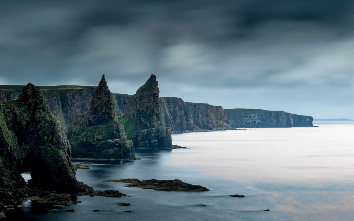 coast, Rock, Nature, Sea, Scotland, Cliff Wallpapers HD / Desktop …