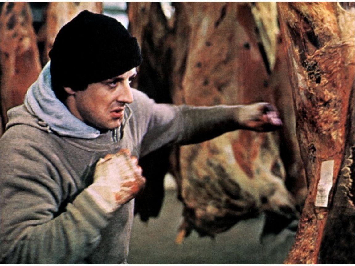 Rocky Balboa training Wallpaper