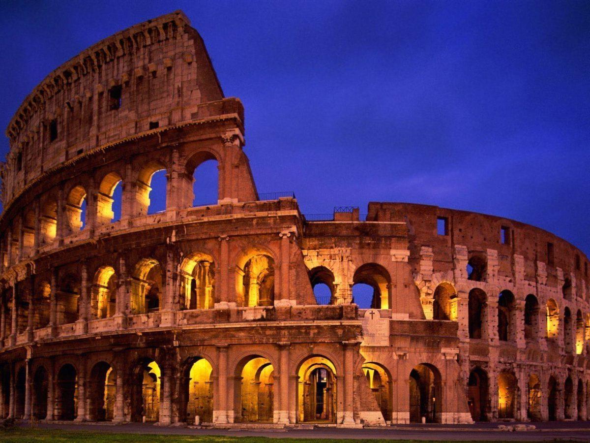 El Coliseo de Roma Wallpaper Mundial Italia